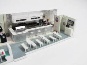 Antenna's diner